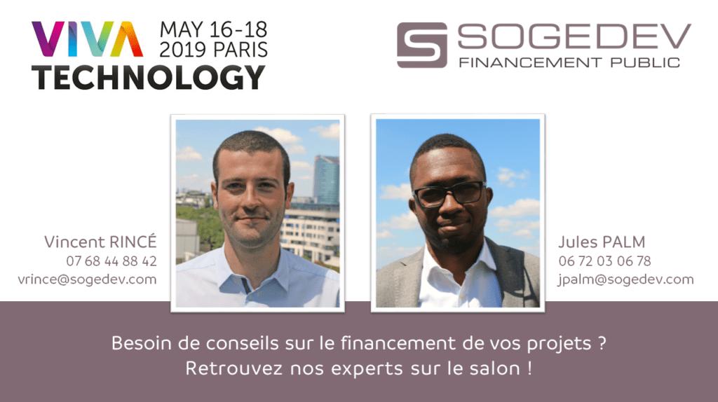 Vivatech Paris 2019 Sogedev