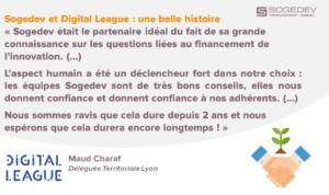 Partenariat Digital League / Sogedev