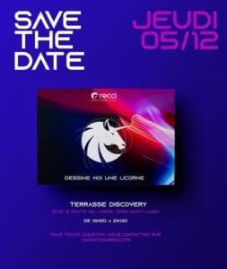 Save the date soirée RECCI