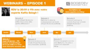 Programme saison 4 webinars